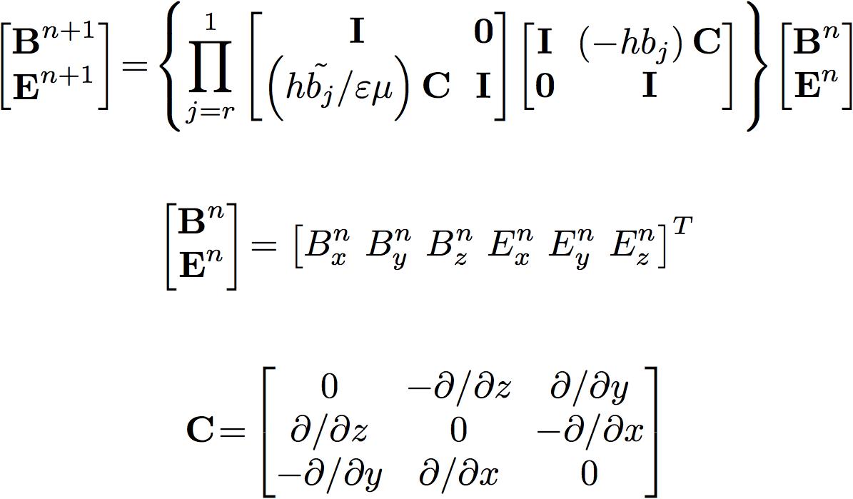 symplectic integration FDTD